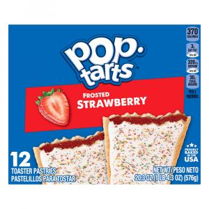Kellogg's Frosted Strawberry Pop-Tarts