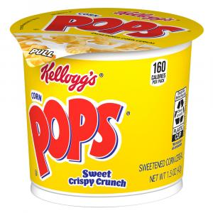 Kellogg's Corn Pops In a Cup Cereal