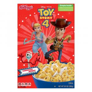 Kellogg's Toy Story 4 Carnival Berry Cereal