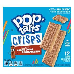 Kellogg's Pop-Tarts Crisps Frosted Brown Sugar Cinnamazing