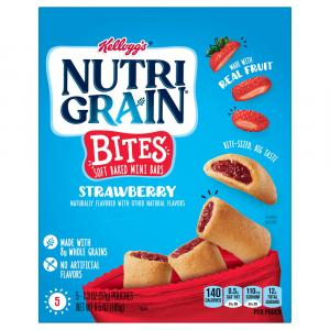 Kellogg's Nutri-Grain Kids Strawberry Blast Mini Bars