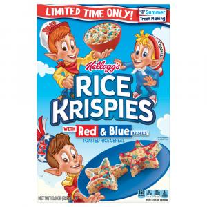 Kelloggs Rice Krispies Red & Blue Cereal