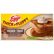 Eggo Thick & Fluffy Cinnamon Brown Sugar French Toast