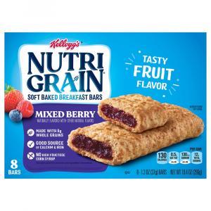 Kellogg's Nutri-Grain Mixed Berry Bars