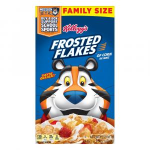 Kellogg's Frosted Flakes Cereal Family Size