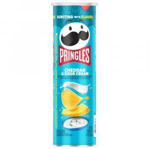 Pringles Cheddar and Sour Cream Potato Crisps