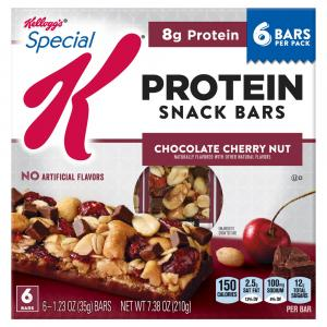 Kellogg Special K Protein Trail Mix Bar Chocolate Cherry Nut