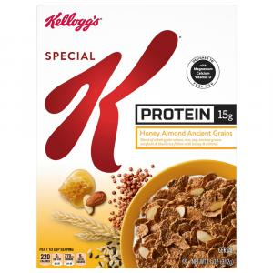 Special K Protein Honey Almond Ancient Grains Cereal