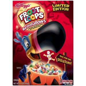 Kellogg's Froot Loops Spooky Marshmallows Cereal