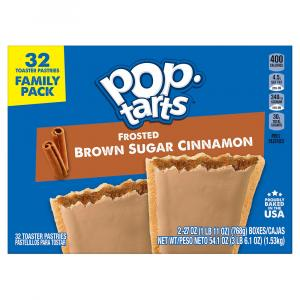 Kellogg's Pop-Tarts Frosted Brown Sugar Cinnamon Family Pack