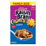 Kellogg's Raisin Bran Crunch Original Family Size Cereal