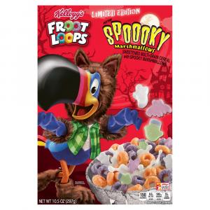 Froot Loops Halloween Marshmallow Cereal