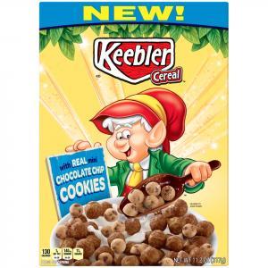Kellogg's Keebler Chocolate Chip Cookies Cereal