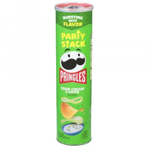 Pringles Sour Cream & Onion Mega Stack Can