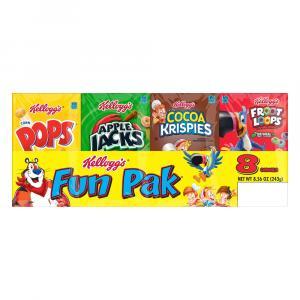 Kellogg's Fun Pack Cereal