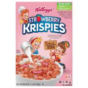 Kellogg's Strawberry Krispies Cereal