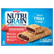 Kellogg's Nutri-Grain Strawberry Bars