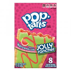 Kellogg's Jolly Rancher Frosted Watermelon Toaster Pastries