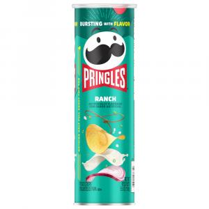 Pringles Ranch Flavor Potato Crisps