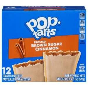 Kellogg's Frosted Brown Sugar Cinnamon Pop-Tarts