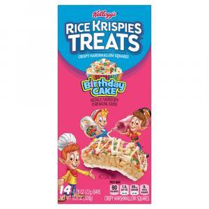 Kellogg's Rice Krispies Treats Birthday Cake