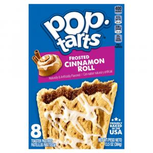 Kellogg's Pop-Tarts Frosted Cinnamon Roll Toaster Pastries