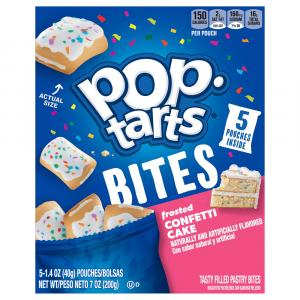 Kellogg's Pop-Tarts Bites Frosted Confetti Cake