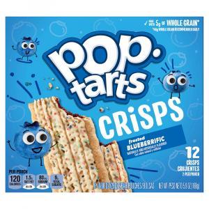 Kellogg's Pop-Tarts Crisps Frosted Blueberry