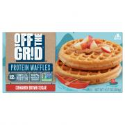 Off The Grid Cinnamon Brown Sugar Waffles