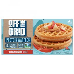 Off The Grid Cinnamon Brown Sugar Waffles