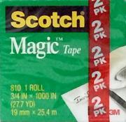 Scotch Magic Tape 3/4 Inch