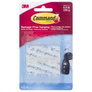 3M Command Mini Clear Hooks