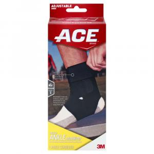 Ace Ankle Brace w/Stabilizer Adjustable