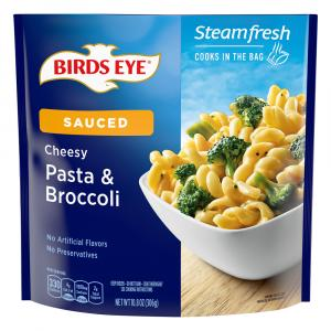Birds Eye Steamfresh Pasta & Broccoli with Cheese Sauce