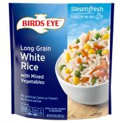 Birds Eye Steamfresh Long Grain White Rice w/Vegetables