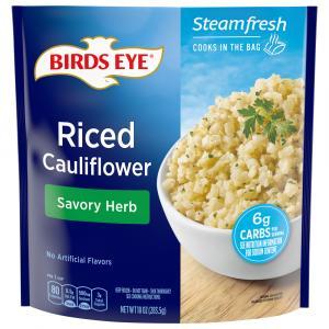 Birds Eye Riced Cauliflower with Savory Herb