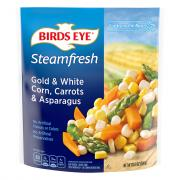 Birds Eye Steamfresh Gold White Corn Carrots and Asparagus