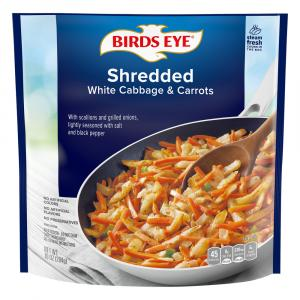 Birds Eye Shredded White Cabbage & Carrots