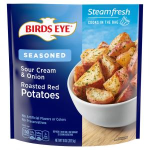 Birds Eye Steamfresh Flavor Full Sour Cream & Onion Potatoes