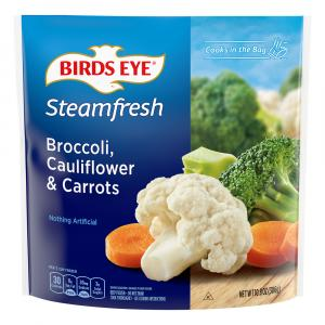 Birds Eye Steamfresh Broccoli Cauliflower & Carrots Mixtures