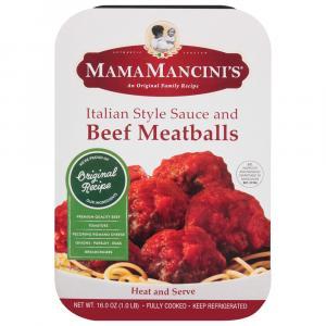Mama Mancinis Beef Meatballs