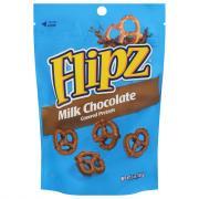 Flipz Milk Chocolate Pretzels