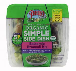 Pero Family Farms Organic Simple Side Dish Balsamic Broccoli