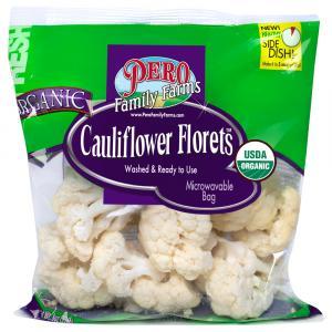 Pero Family Farms Organic Cauliflower Florets