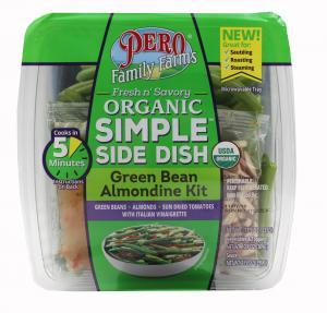 Pero Family Farms Organic Simple Side Dish Green Bean