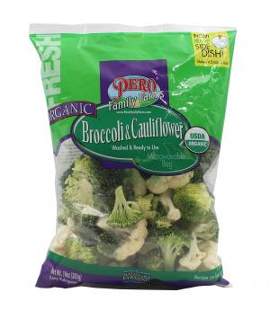Pero Family Farms Organic Broccoli & Cauliflower Florets