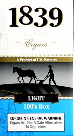 1839 Cigar 100 Light Box