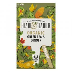 Heath & Heather Organic Green Tea & Ginger