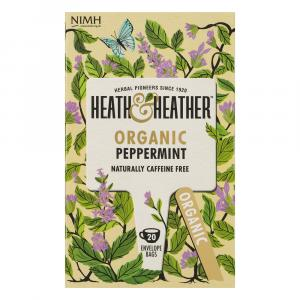 Heath & Heather Organic Peppermint Tea