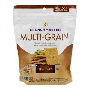 Crunchmaster Multi Grain Sea Salt Crackers